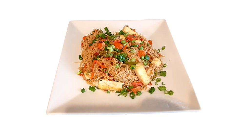 Image of Gluten Free, Vegan, Pad Thai with Almond Butter