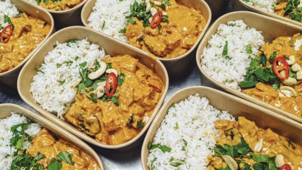 Image of Vegan Cashew Korma Curry