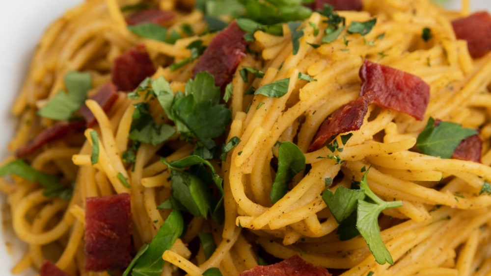 Image of Squash Carbonara