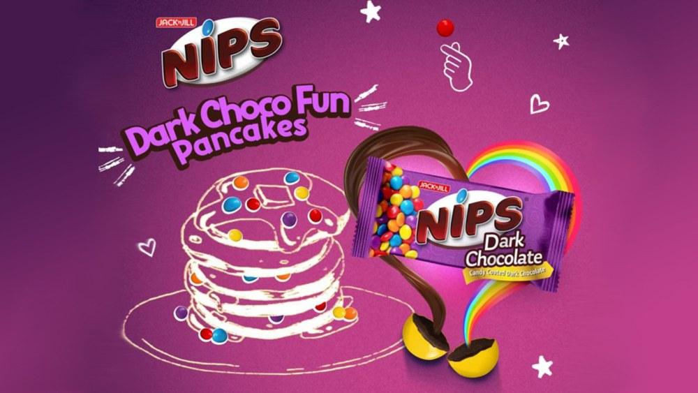 Image of Nips Dark Choco Fun Pancakes