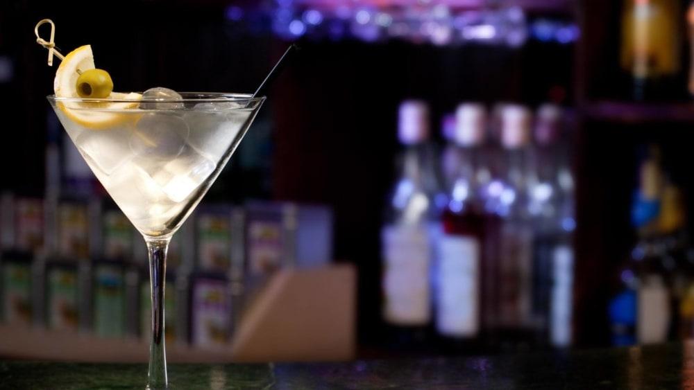 Image of Gin Martini Cocktail Recipe
