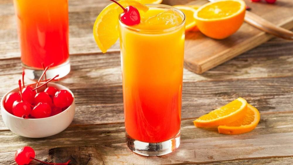 Image of Tequila Sunrise Cocktail Recipe