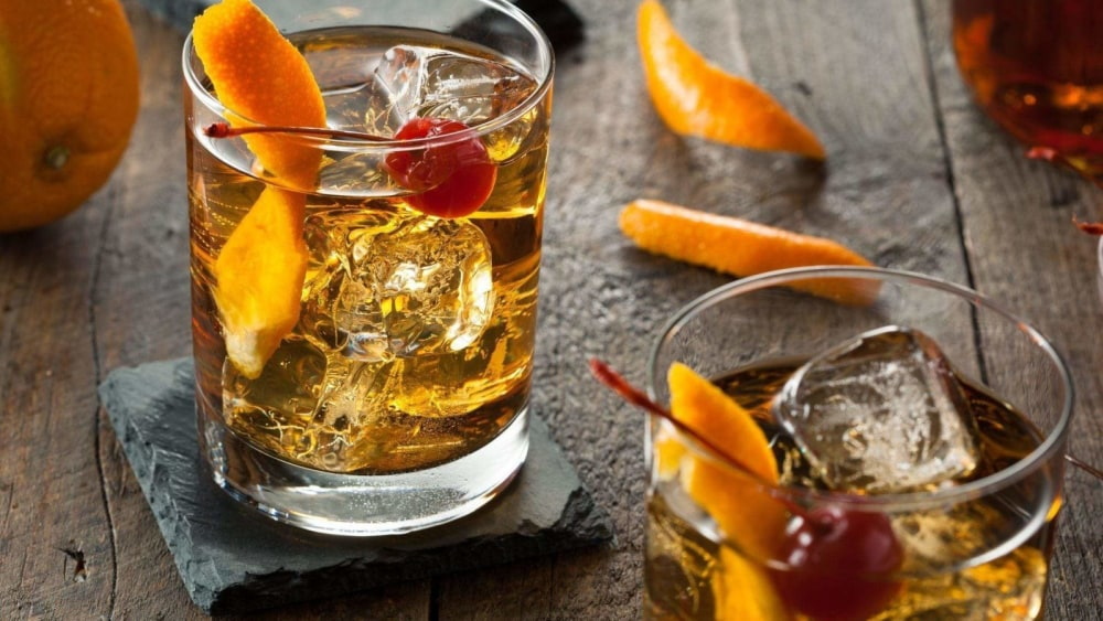 Image of Rum Old Fashioned Cocktail Recipe