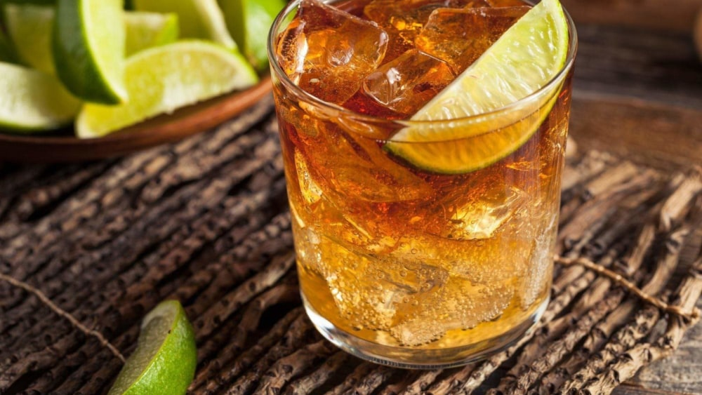 Image of Dark and Stormy Cocktail Recipe