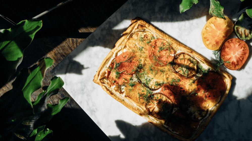 Image of Savory Spring Tomato Tarte
