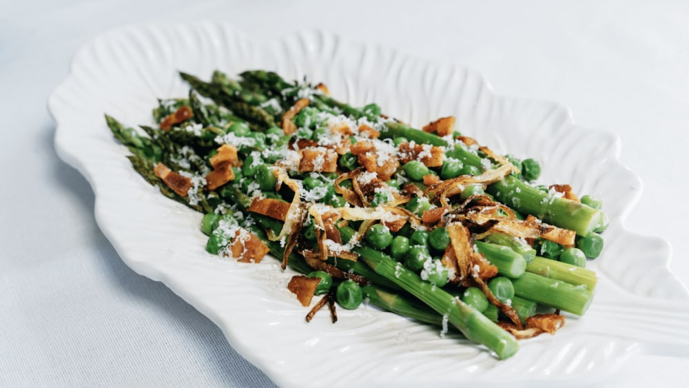 Image of Showstopping Asparagus Braised in Bone Broth