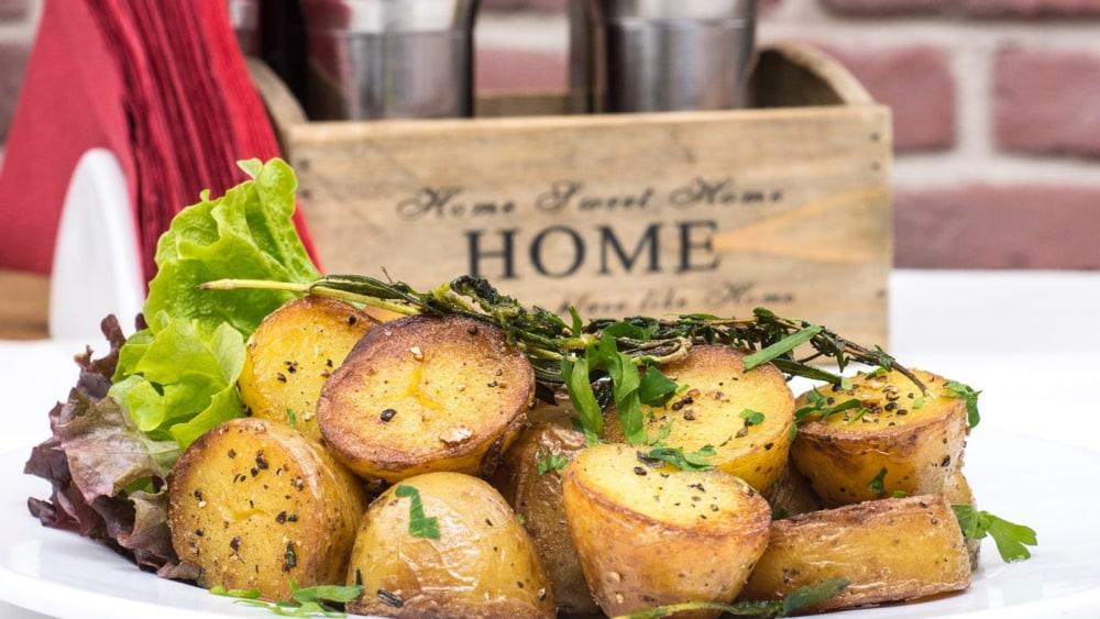 Image of Lemon & Rosemary Roasted Potatoes