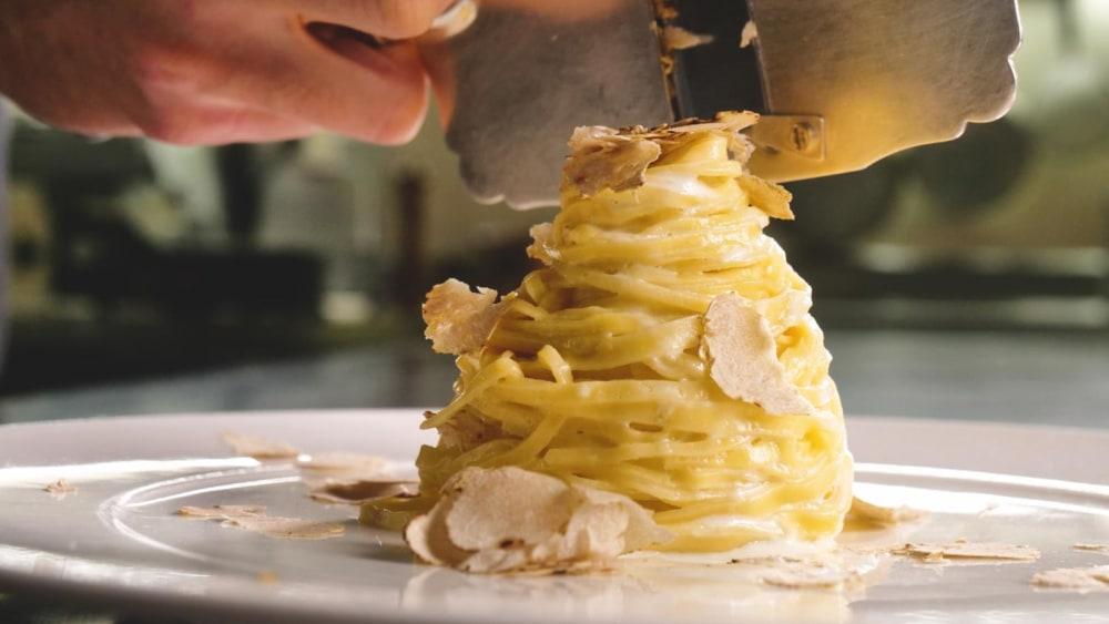 Image of Earthy Italian White Truffle Pasta