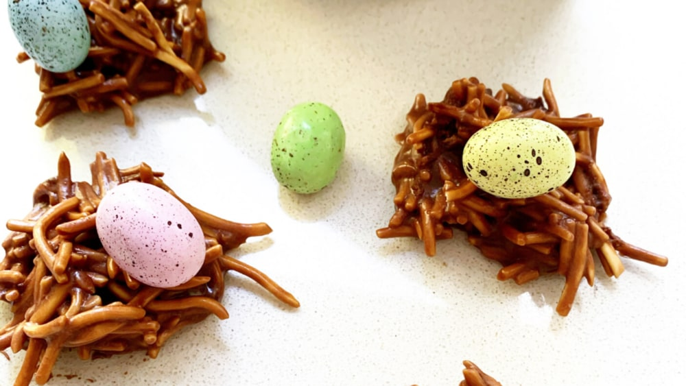 Image ofHigh Protein ChocolateEaster Nests