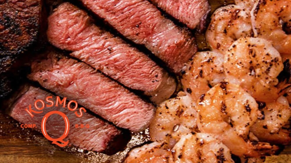 Image of Steak and Shrimp - Oklahoma Surf & Turf!