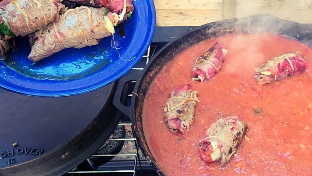 Image of Grilled Beef Braciole