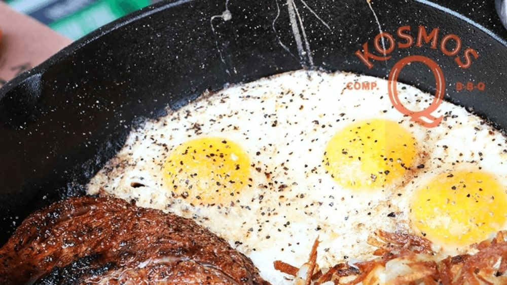 Image of Cast Iron Steak And Eggs