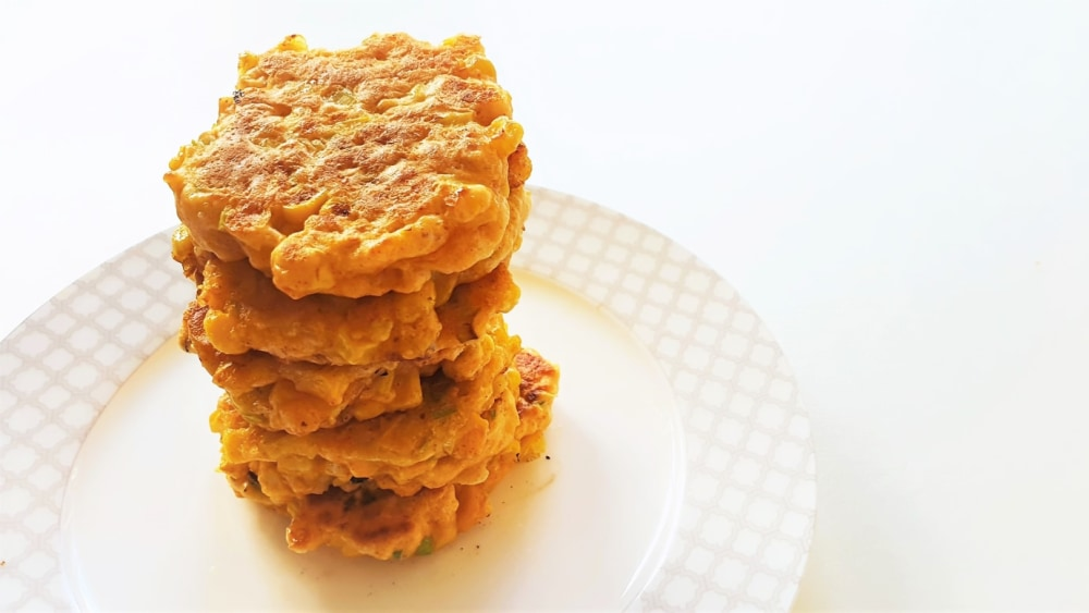 Image of Cheesy Corn Fritters