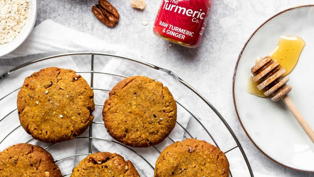 Image of Ginger Turmeric Biscuits