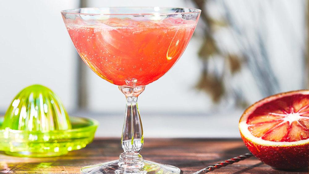 Image of Blood Orange Mimosas