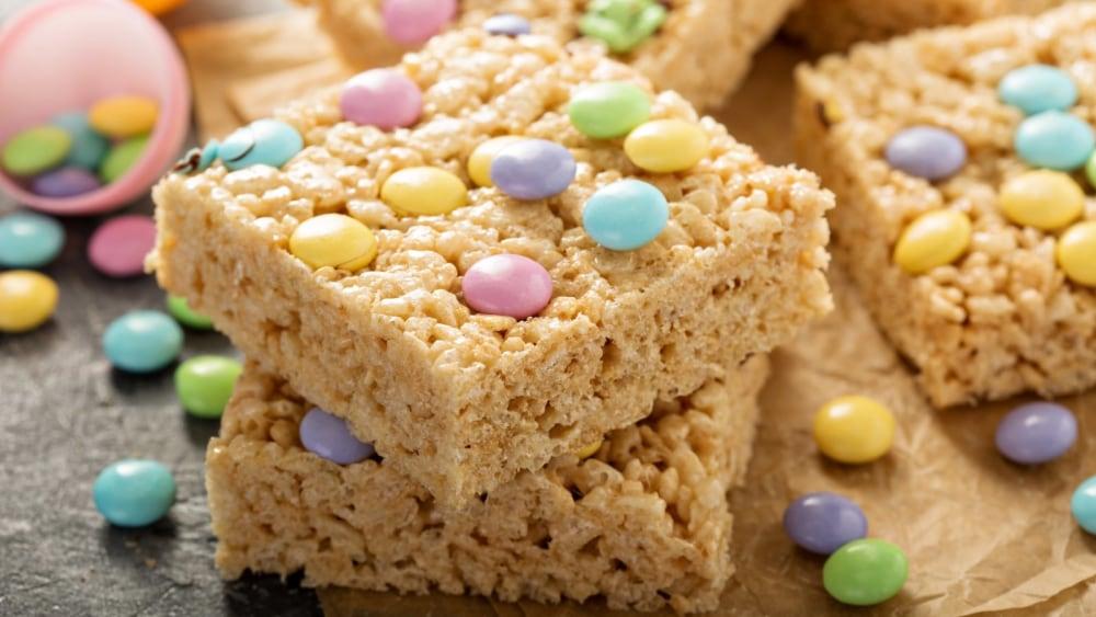 Image of Mini Egg Rice Crispy Squares