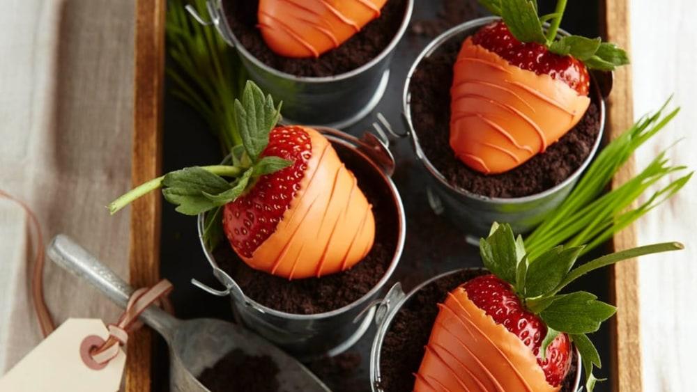 Image of Easter Strawberry Dessert