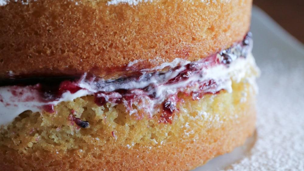 Image of Gluten Free Victoria Sponge Cake