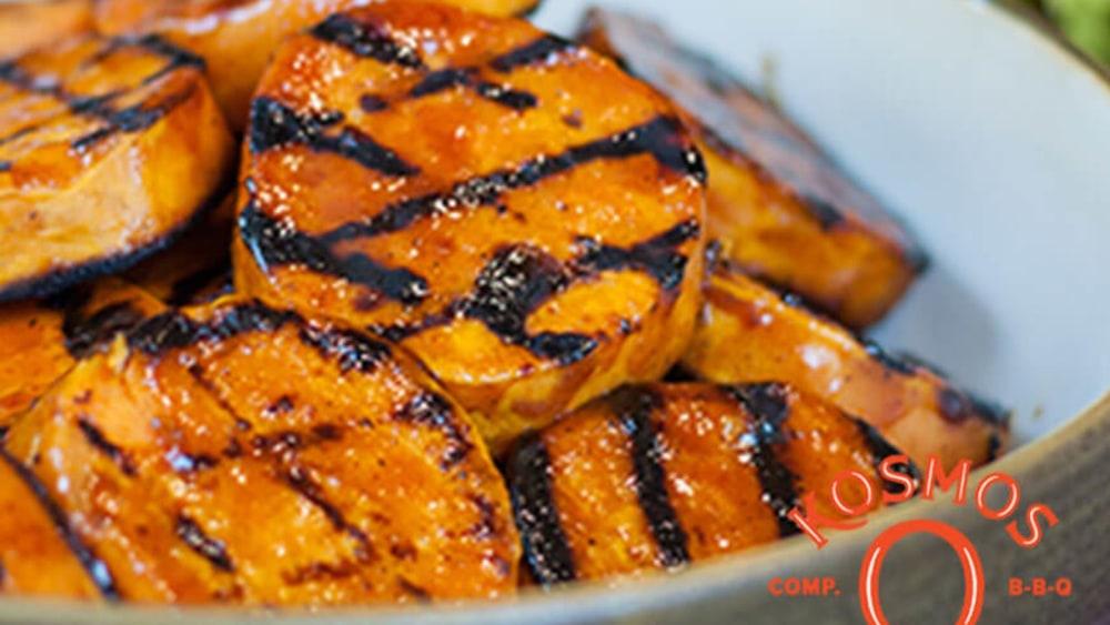 Image of Grilled & Glazed Sweet Potatoes
