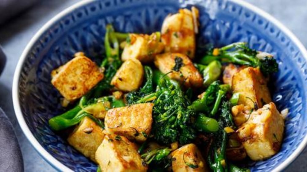 Image of Bean Curd Home Style: Meat-free and Delicious