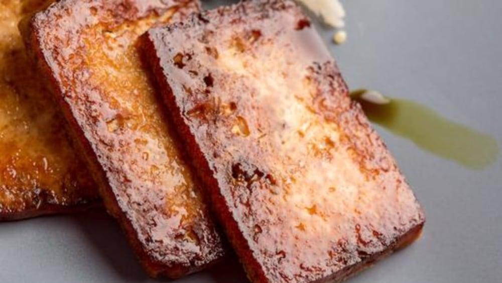 Image of Crispy Baked Tofu: The Best Tofu Marinade