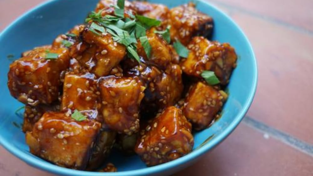 Image of General Tso's Tofu Recipe: Spicy, Sweet, and Meat-free