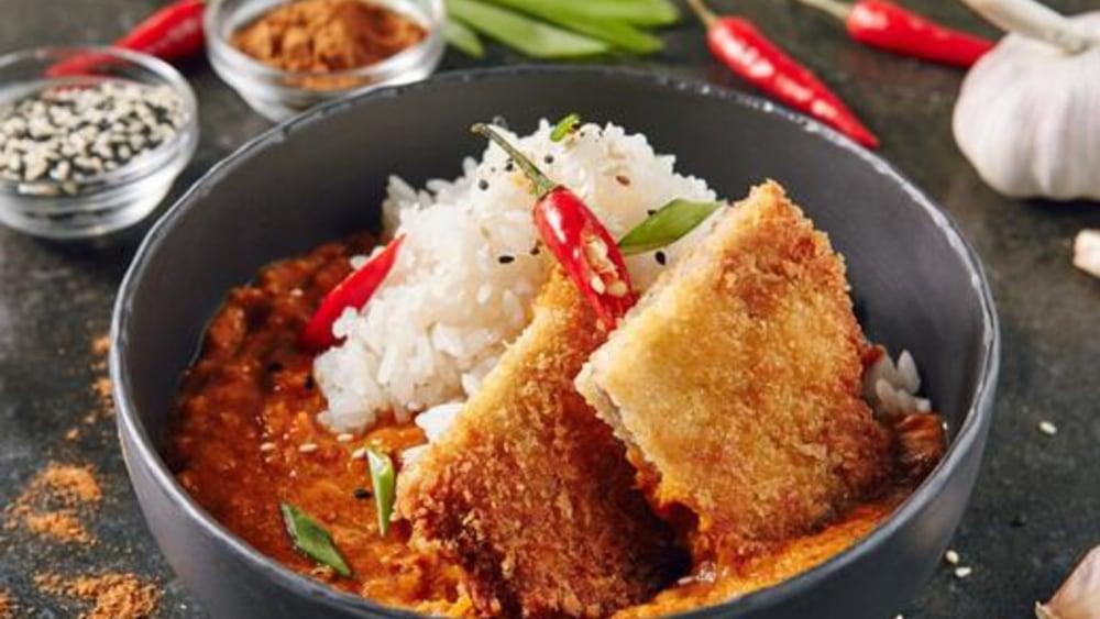Image of Japanese Tofu Curry: Vegan Katsu Curry Recipe