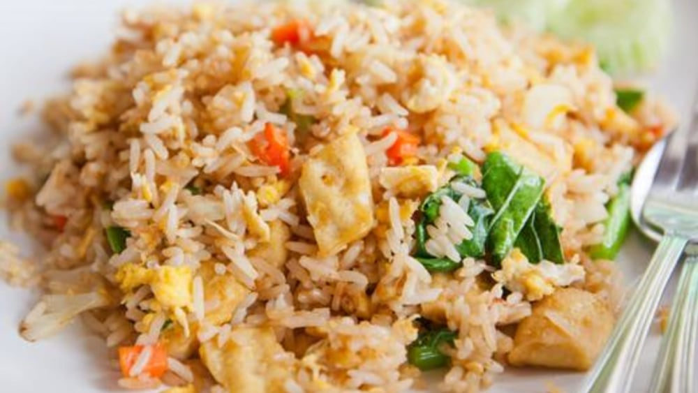 Image of Tofu Fried Rice: A Healthy, Vegetarian Recipe With Fried Rice