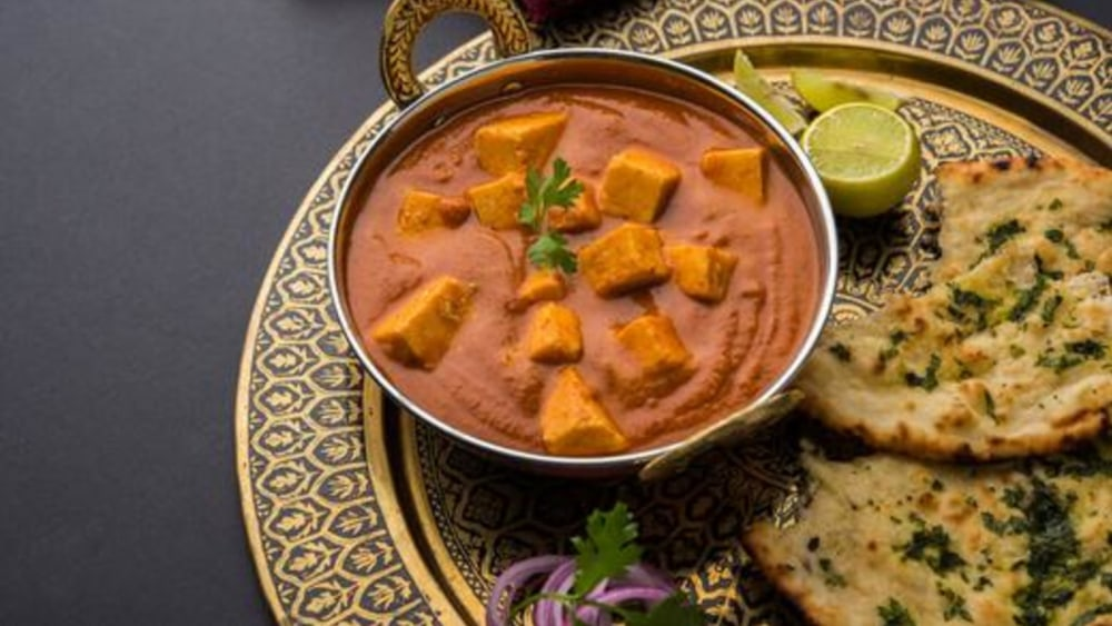 Image of Tofu Indian Curry: Vegan 'Butter Chicken' Recipe