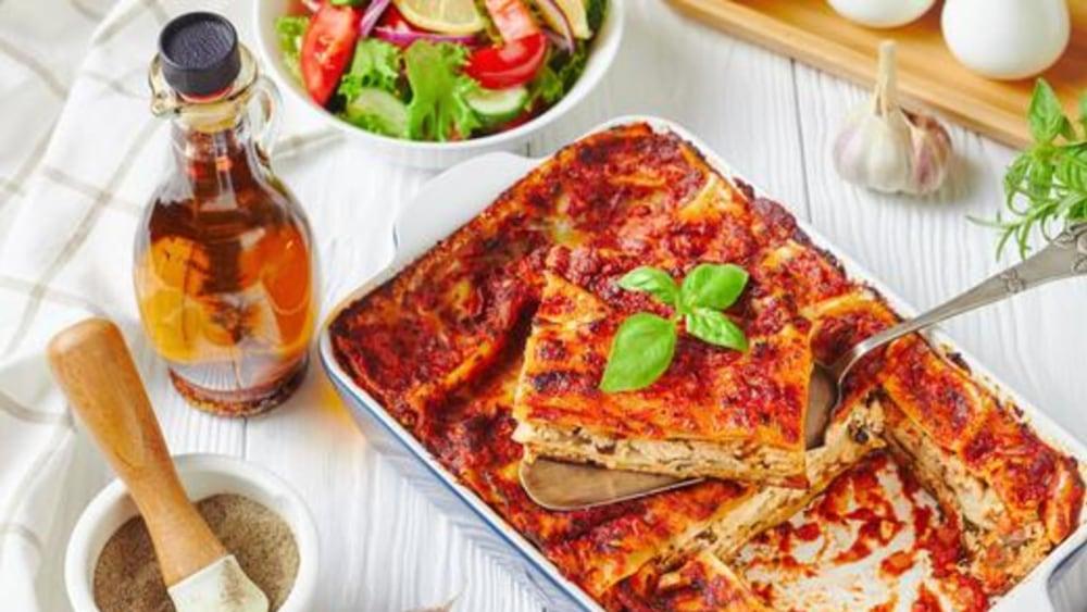 Image of Tofu Lasagna: Vegan Plant-Based Lasagna Recipe