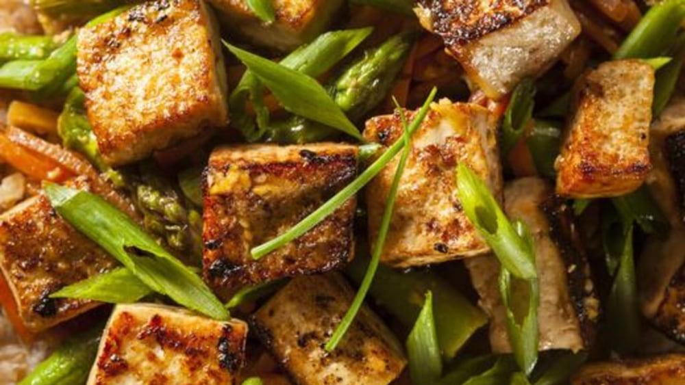 Image of Tofu Stir Fry Recipe: Highlighting A Vegan Option
