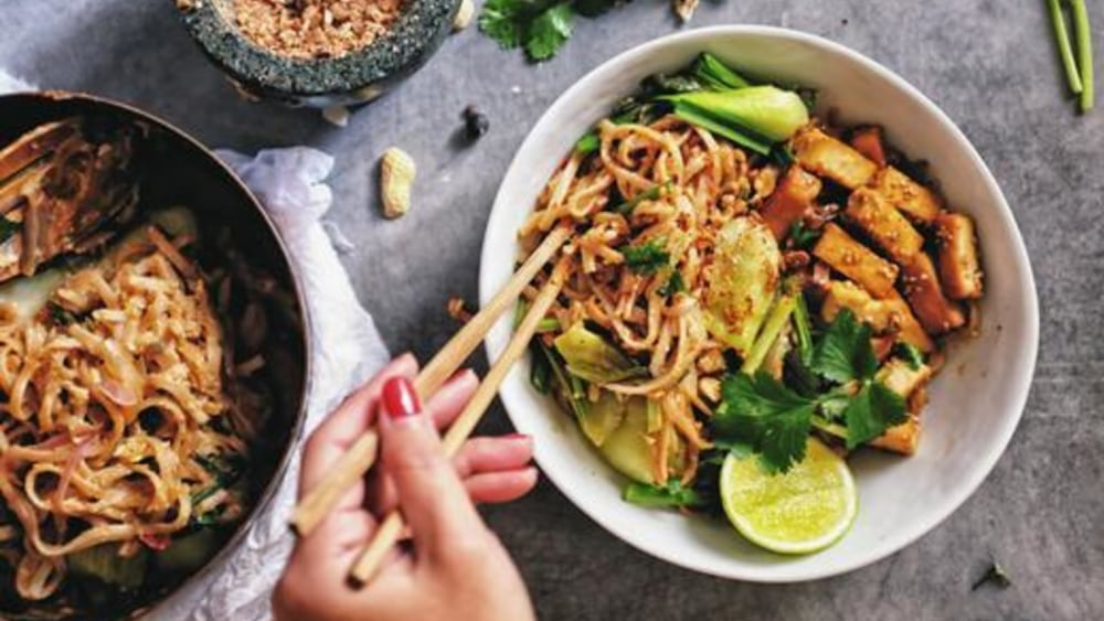 Image of Vegan Pad Thai: From Fridge to Table in 30 Minutes