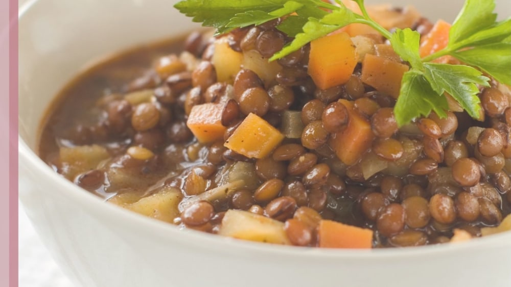 Image of Lentils and ham hock - a cuddle for your tummy.