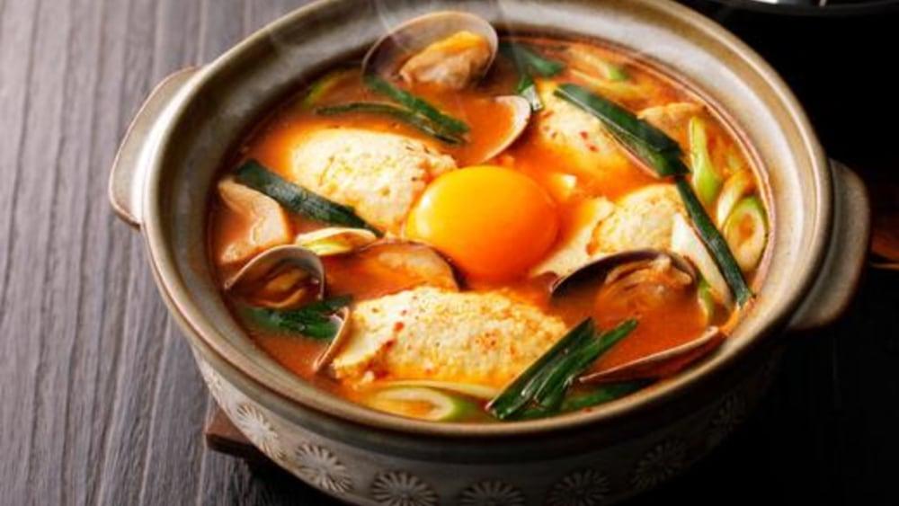 Image of Soondubu Jjigae: Spicy Korean Tofu Stew Recipe