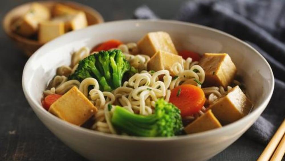 Image of Tofu Hot Pot: One-Pot Dinner Recipe