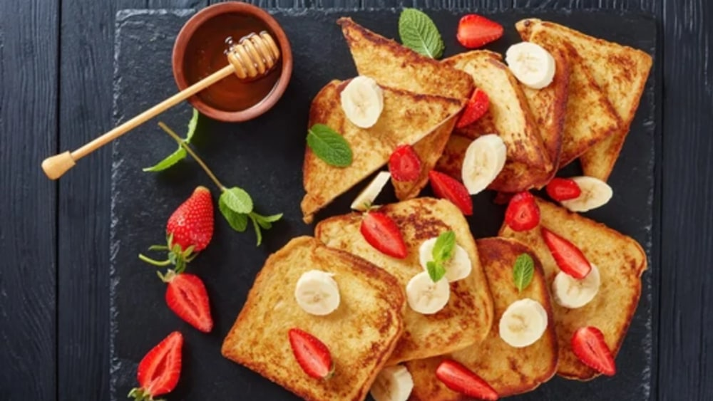 Image of Healthy French Toast For The Family