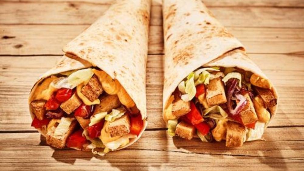 Image of Tofu Burrito: Vegan Breakfast Burrito Recipe