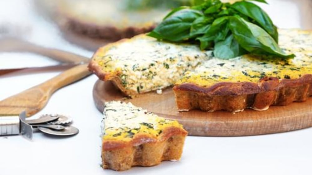 Image of Vegan Quiche: The Ultimate Eggless and Dairy-Free Quiche