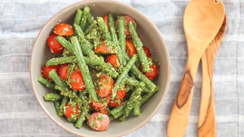 Image of Green Beans & Cherry Tomato Salad