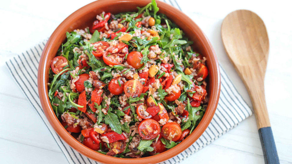 Image of Wild Rice, Tomato & Rocket Balsamic Salad