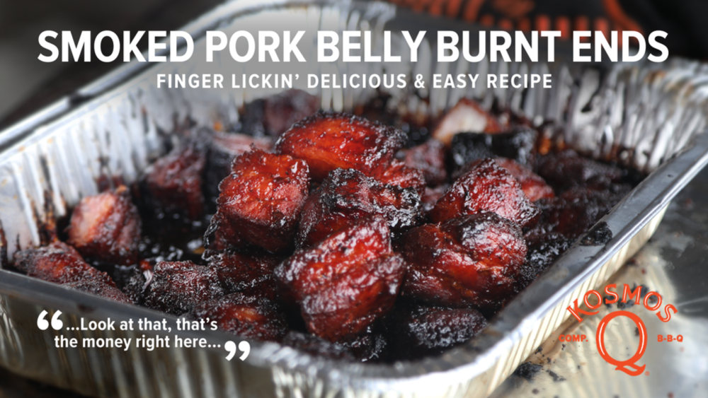 Image of SMOKED PORK BELLY BURNT ENDS (THE EASY WAY)