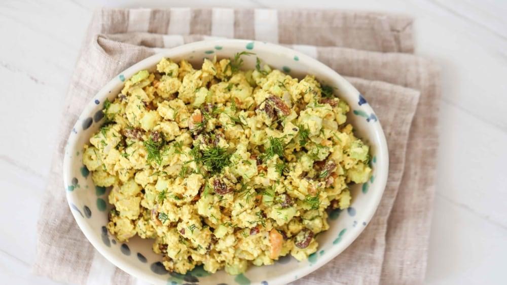 Image of Curried Tofu Salad