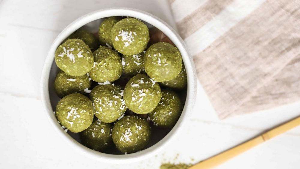 Image of Matcha Energy Balls