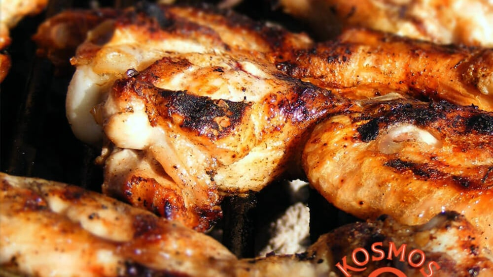 Image of Barbecued Chicken For A Crowd