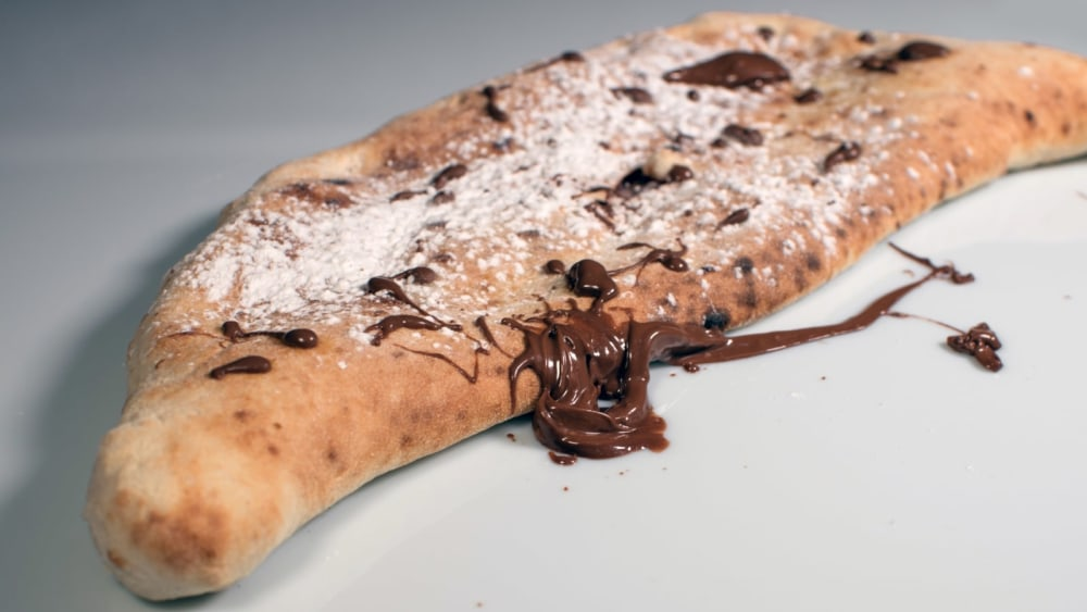 Image of Hazelnut cream and Truffle pizza