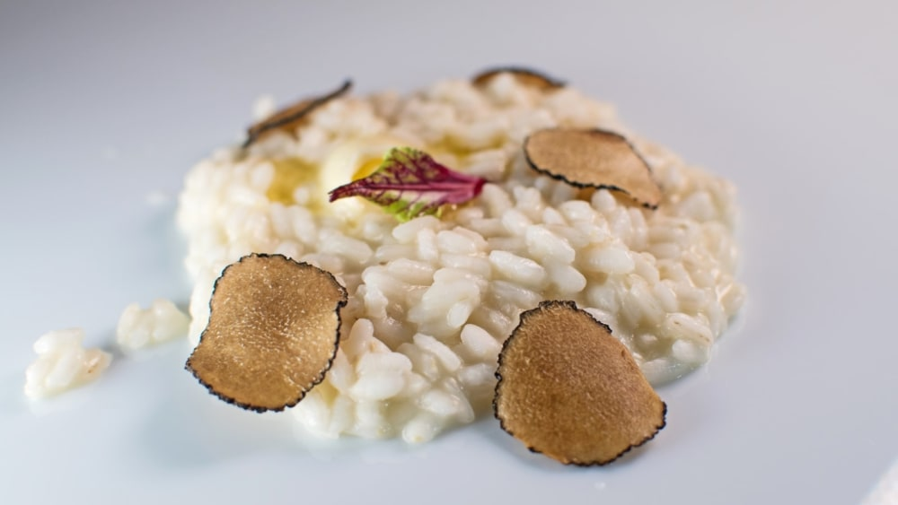 Image of Risotto with Black Lyophilized Truffles
