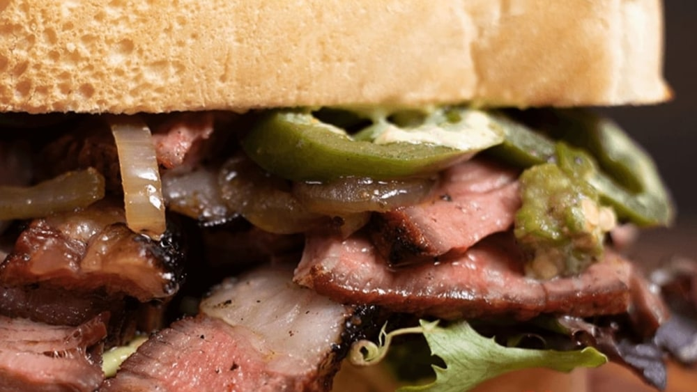 Image of The Perfect Steak Sandwich For Men