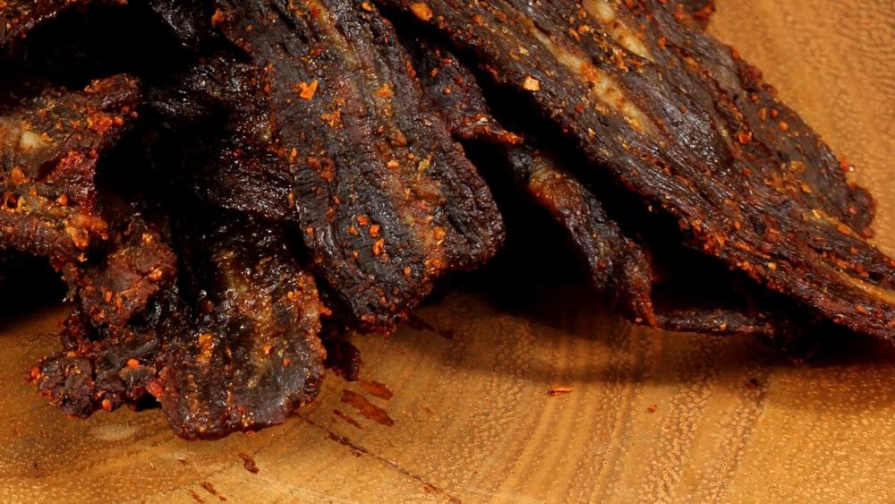 Image of Beef Jerky with Sweet Rib Rub