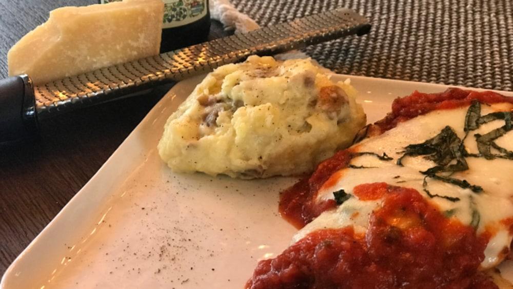Image of Crispy Chicken Parmigiana