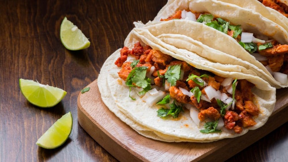 Image of Adobada Tacos: Classic Mexican Street Pork & Pineapple Taco Recipe